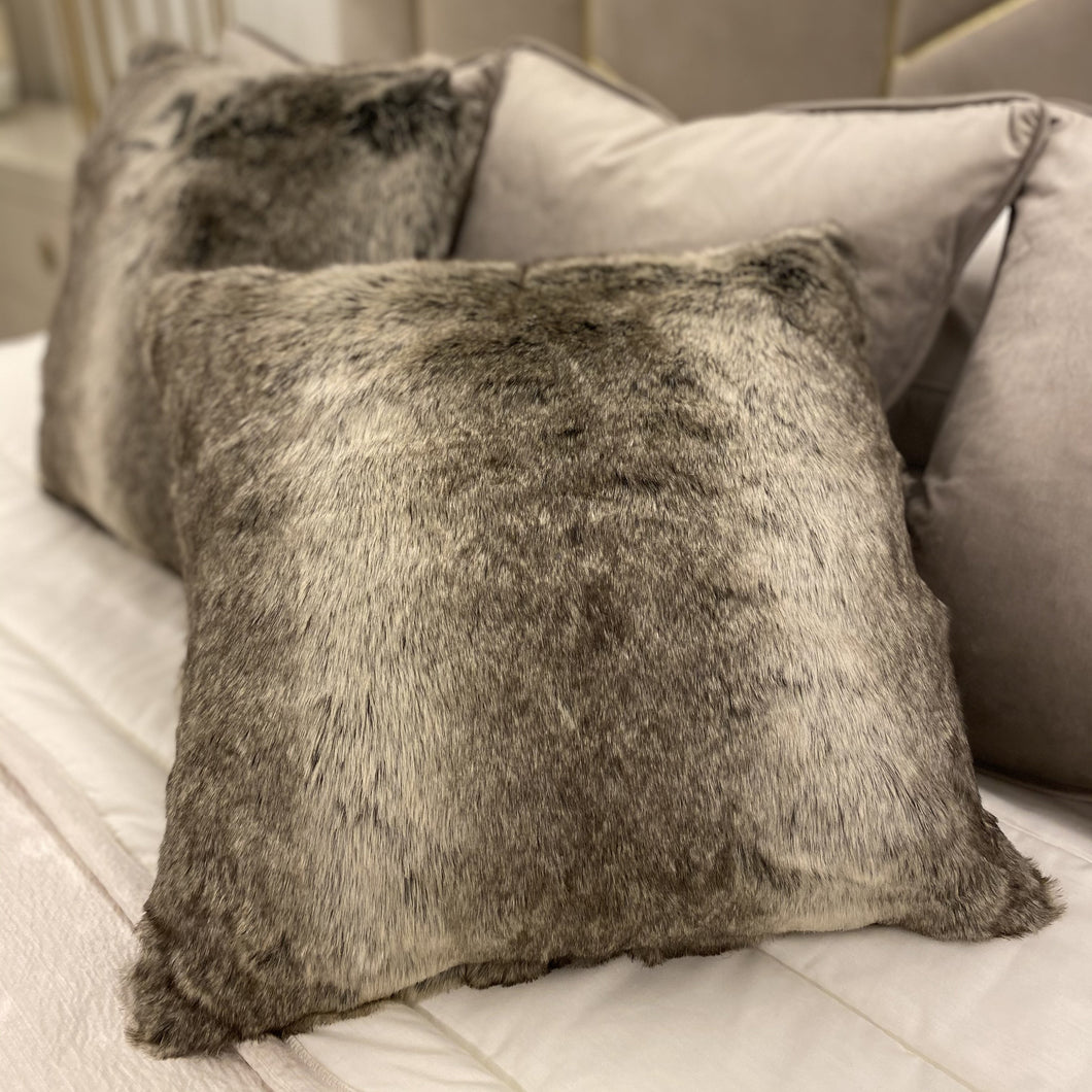 Helsinki Faux Fur Cushion