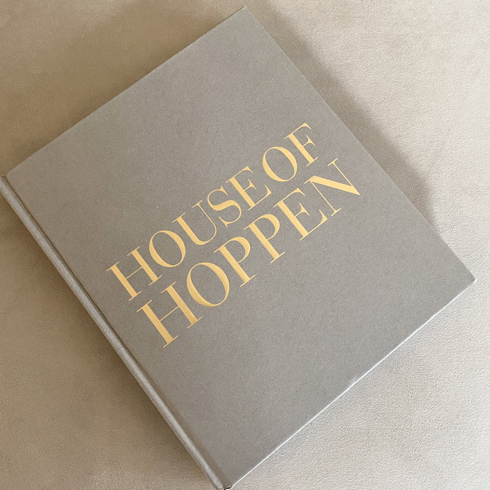 House of Hoppen Grey & Gold Coffee Table Book Books