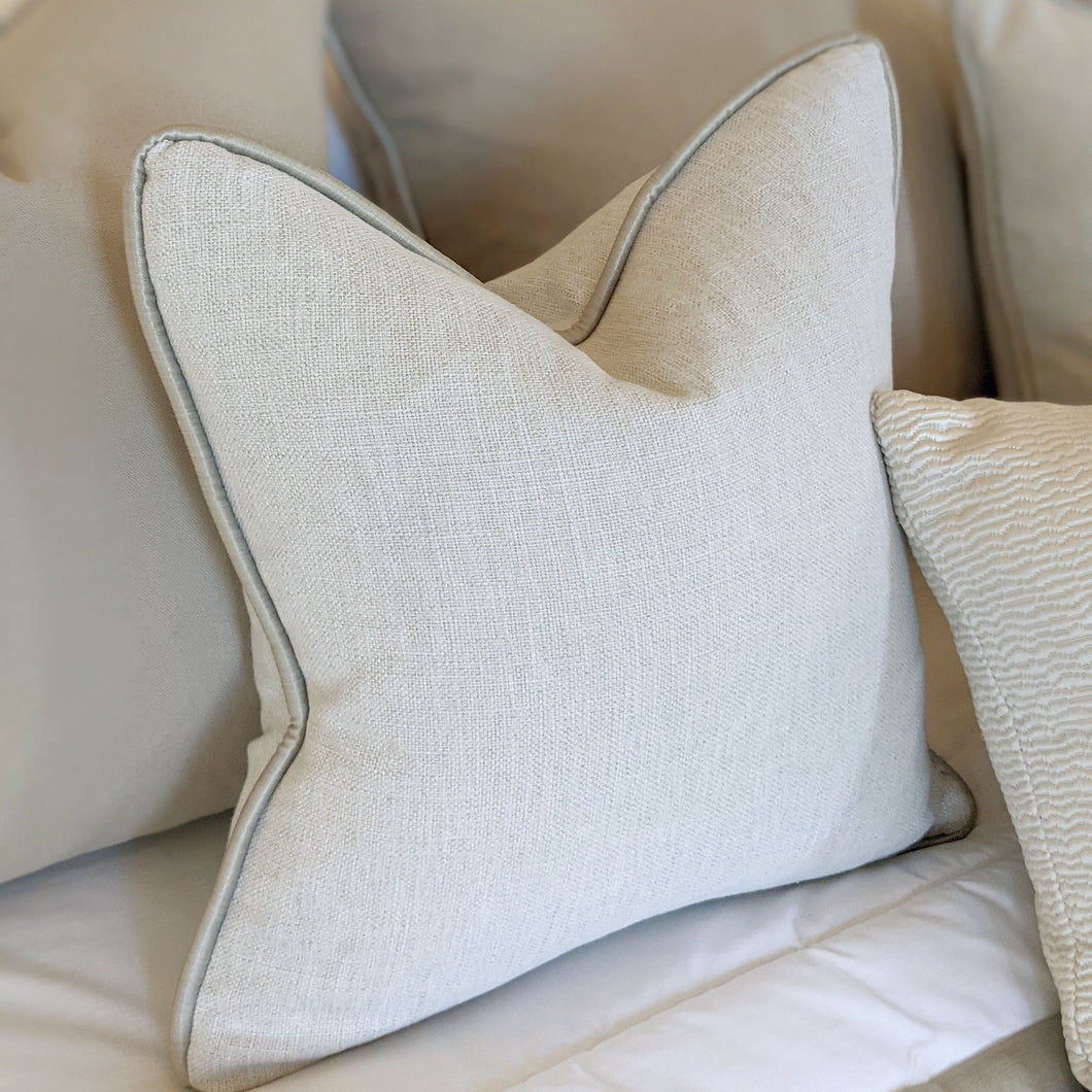 Matrix Frost Luxury Linen Cushion Cushion
