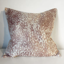 Load image into Gallery viewer, Rebecca Watercolour Print Pink Cushion - 45 x 45cm
