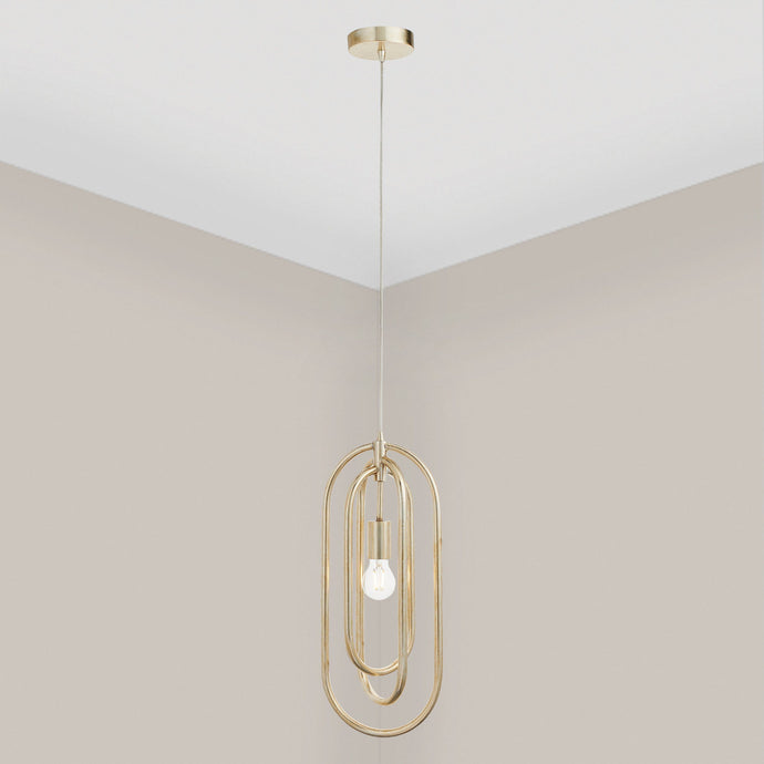 Sofia Gold Pendant Ceiling Light Lighting