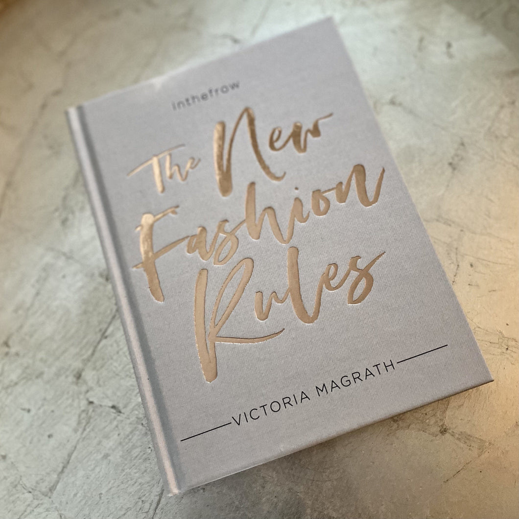 The New Fashion Rules, Rose Gold & Grey Hardback Book