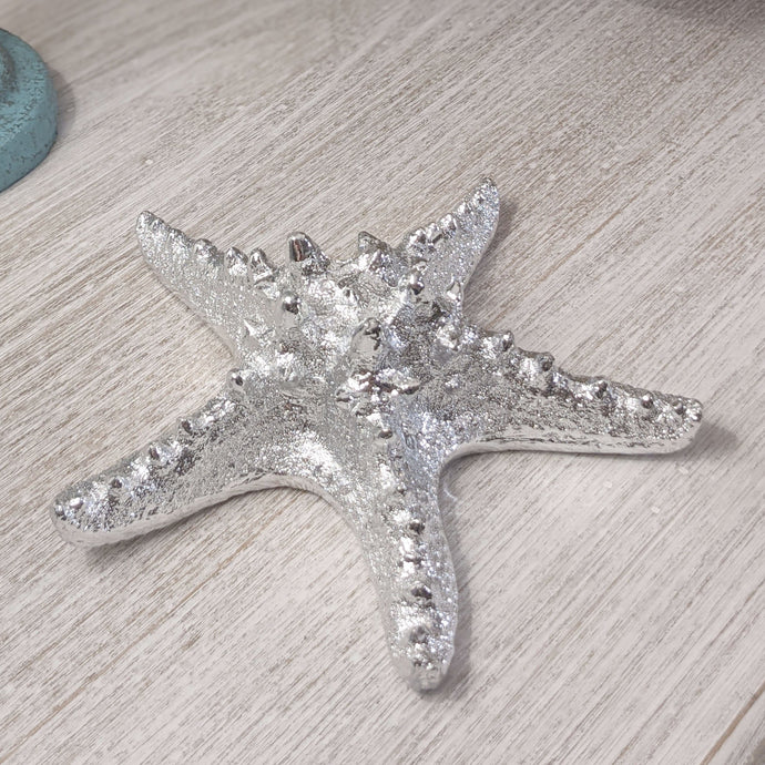 Tide Silver Resin Starfish Accessories