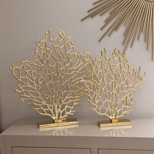 Vulcan Large Gold Tree Sculpture Accessories