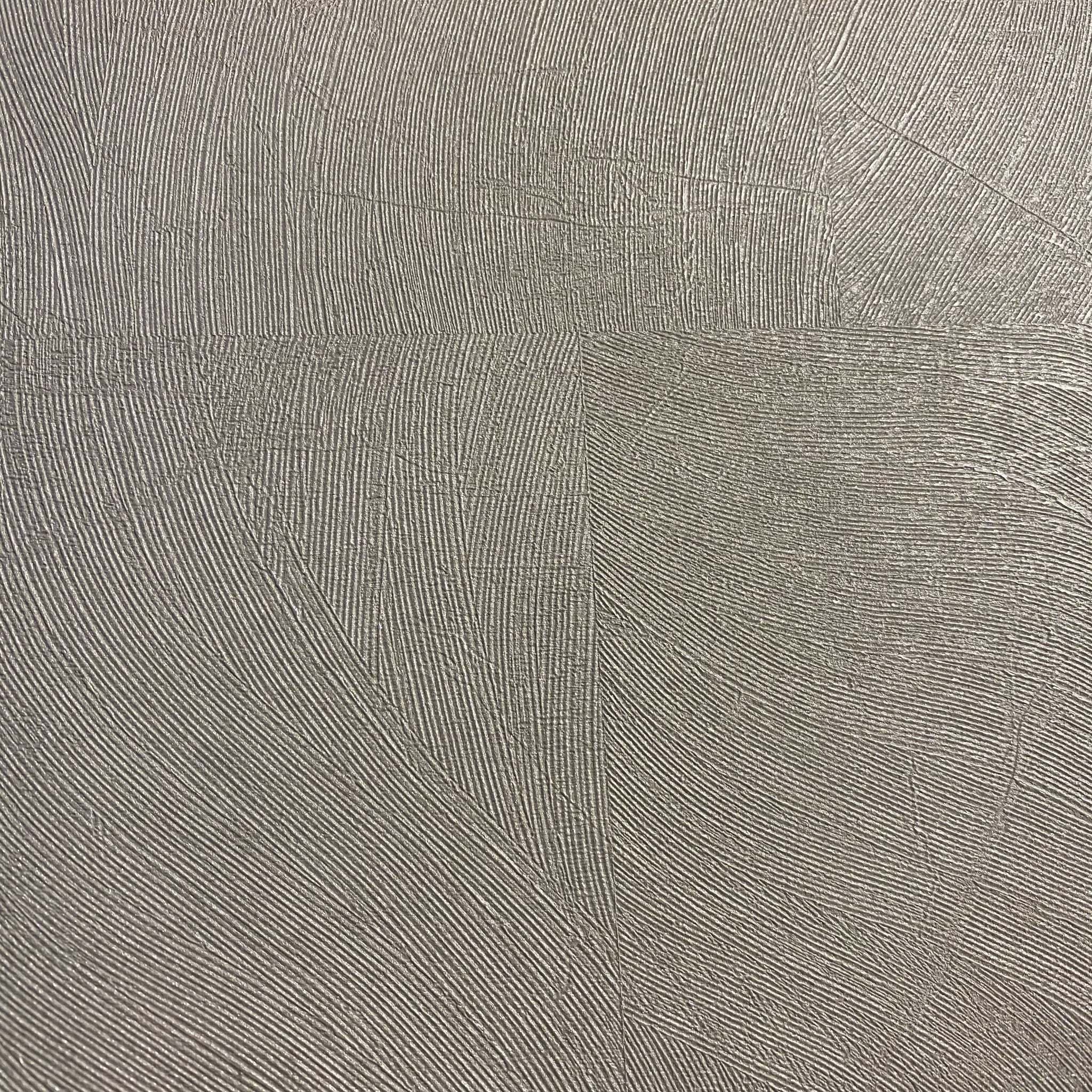Redia Ice Grey Panelled Textured Wallpaper
