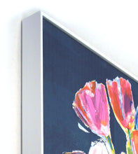 "Load image into Gallery viewer, Jill Martin 30""x 40"" Flower Bouquet Framed Canvas Wall Art"