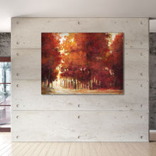 Load image into Gallery viewer, Autumn Glow 40-inch by 30-inch Wrapped Canvas Wall Art
