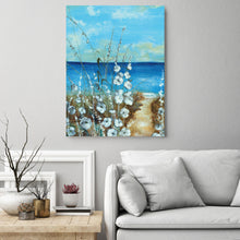 Load image into Gallery viewer, Beachside Wrapped Canvas 30-inches by 40-inches