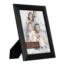 Load image into Gallery viewer, Dakota 8-inch x 10-inch Wood Picture Frame, Black