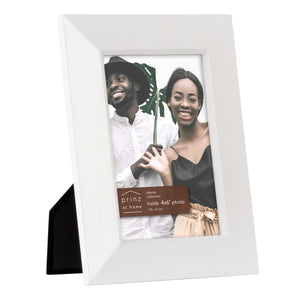 Dakota 4-inch x 6-inch Wood Picture Frame, White