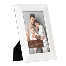 Load image into Gallery viewer, Dakota 5-inch x 7-inch Wood Picture Frame, White