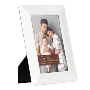 Dakota 5-inch x 7-inch Wood Picture Frame, White