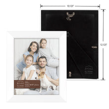 Load image into Gallery viewer, Dakota 8-inch x 10-inch Wood Picture Frame, White