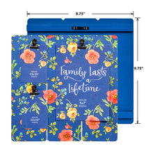Load image into Gallery viewer, Prinz 3 Photo Clip Lisa Audit Blue Floral Collage Photo Display