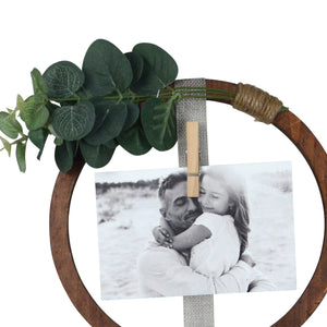 Prinz Hanging Circular Picture Collage for Three Photos
