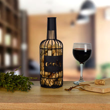 Load image into Gallery viewer, Prinz Decorative Wine Bottle Cork Catch Black Metal