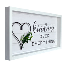 Load image into Gallery viewer, Kindness Over Everything Decorative Wall Art Hanging Plaque