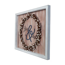 Load image into Gallery viewer, You & Me Decorative Wall Art Faux Willow Wreath