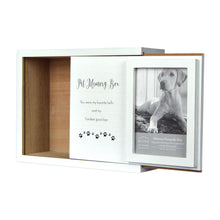 Load image into Gallery viewer, Decorative Dog Photo Keepsake Memory Box