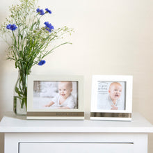 Load image into Gallery viewer, Bundle of Joy Metal Band Horizontal Glossy 6 x 4-inch Picture Frame