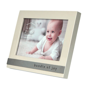 Bundle of Joy Metal Band Horizontal Glossy 6 x 4-inch Picture Frame