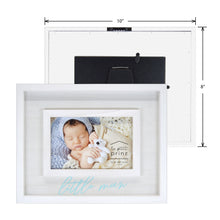 Load image into Gallery viewer, Little Man 4 x 6-inch Boxed Wood Picture Frame
