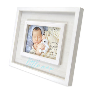 Little Man 4 x 6-inch Boxed Wood Picture Frame