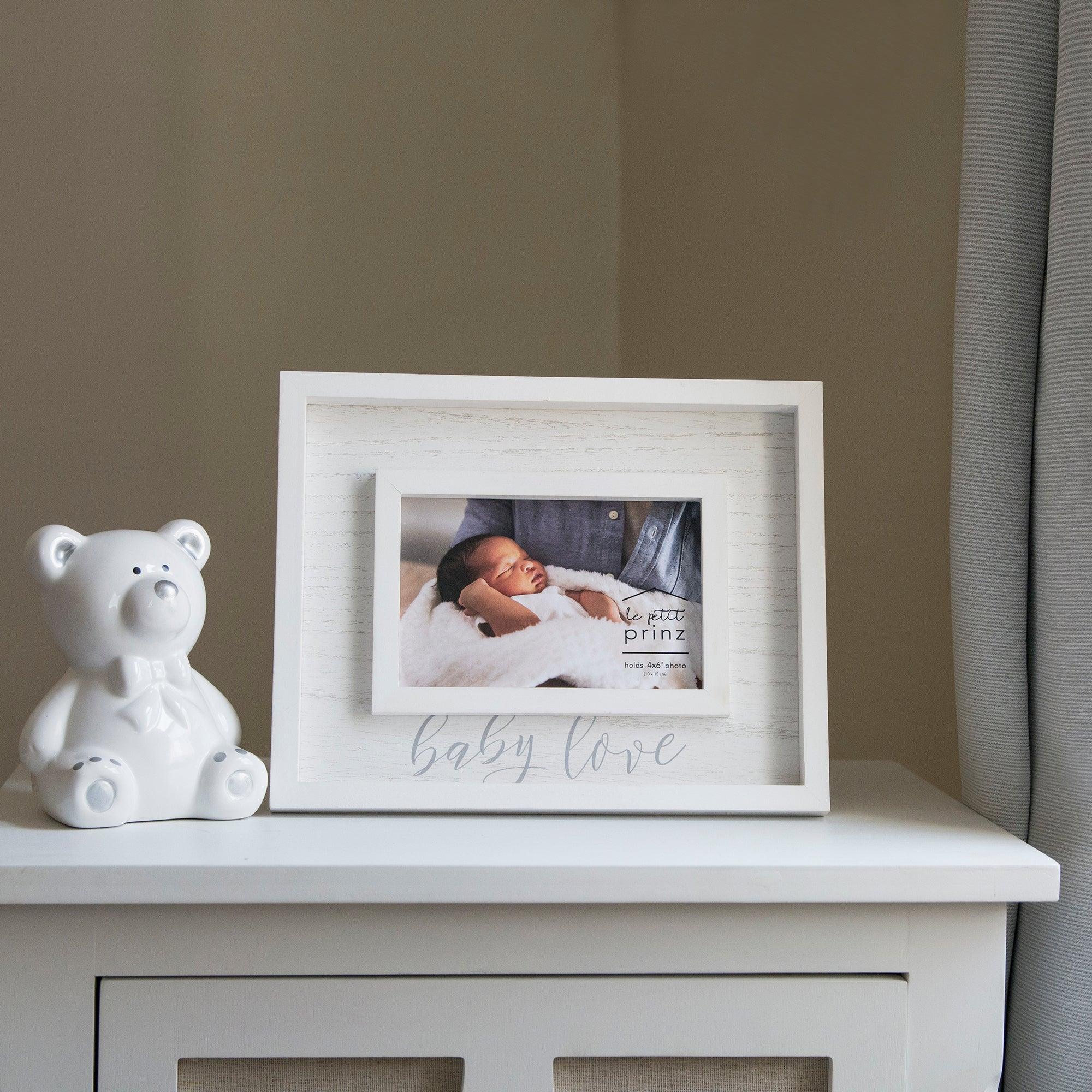 Baby Love Boxed 4 x 6-inch Wood Picture Frame