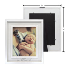 Load image into Gallery viewer, So Blessed 8 x 10-inch Boxed Wood Baby Picture Frame