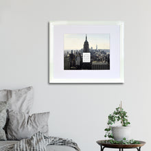 Load image into Gallery viewer, Midtown High Gloss White 11 x 14 Molded Modern Frame