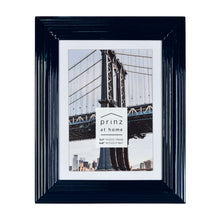 Load image into Gallery viewer, Set of Four, Midtown 5-Inch by 7-Inch Picture Frame, Glossy Blue
