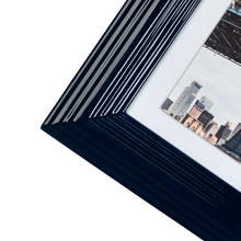 Load image into Gallery viewer, Midtown High Gloss Midnight Blue 5 x 7 Molded Modern Frame