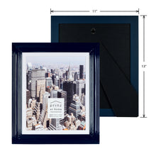 Load image into Gallery viewer, Midtown High Gloss Midnight Blue 8 x 10 Molded Modern Frame