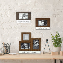 Load image into Gallery viewer, Prinz 3-Opening Tabletop Collage Picture Frame Best Family Ever