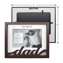 Load image into Gallery viewer, Dad Shadow Box Word Picture Frame
