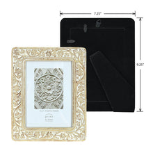 Load image into Gallery viewer, Mixed & Mingled 5 x 7 Embossed Picture Frame, Natural