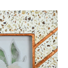 Load image into Gallery viewer, Mixed & Mingled 5 x 7 Resin Terrazzo Picture Frame