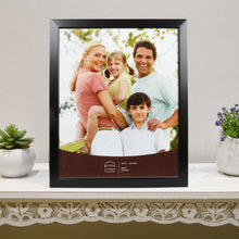 Load image into Gallery viewer, Dakota 16-inch by 20-inch Natural Wood Picture Frame, Black