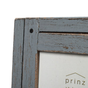 Homestead 5-inch x 7-inch Rustic Wood Picture Frame, Distressed Gray