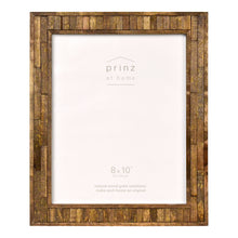 Load image into Gallery viewer, Set of Two, Pallet 8-Inch 10-Inch Wood Picture Frame, Coffee