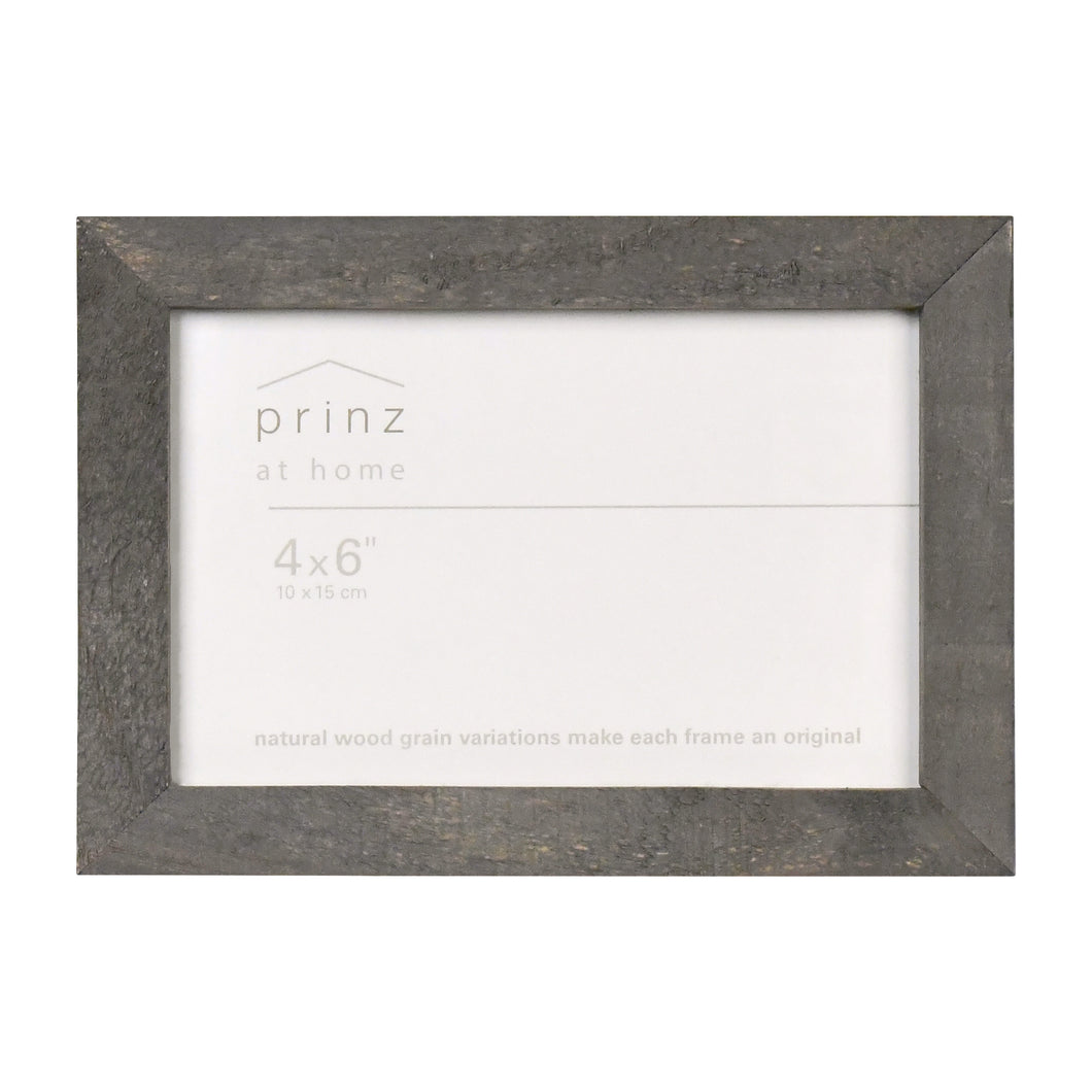 Pallet 4x6 Distressed Rustic Wood Picture Frame, Grey