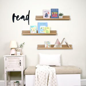 Kids Reading Corner Wall Set