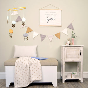 Baby Room Decor Fabric Mobile Set