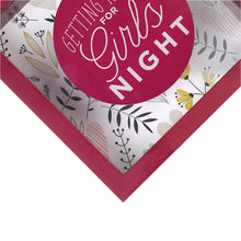 Load image into Gallery viewer, Wooden 6 x 6  Girls Night Fund Shadowbox Bank, Red