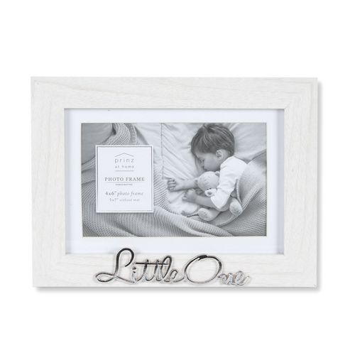 Matted Little One 7 X 5 Sentiment Picture Frame, White