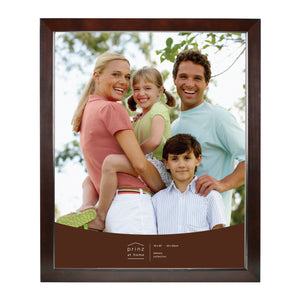 Dakota 16-inch by 20-inch Dark Walnut Wood Picture Frame, Brown