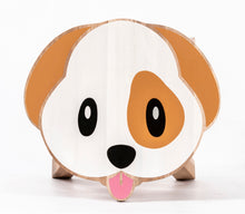 Load image into Gallery viewer, Dog Shaped Children's Stool with Color Printed Seat