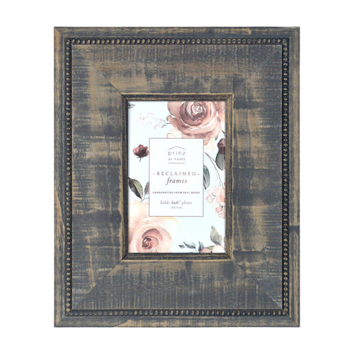Prinz Reclaimed Gray 4 X 6 Wood Picture Frame