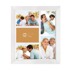 Dakota 5-Opening Collage Frame for 4-Inch by 6-Inch Photos, White