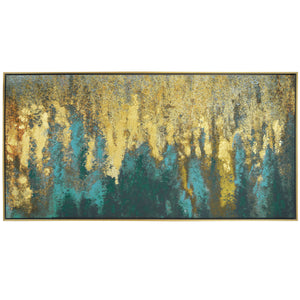 Prinz Framed Embellished Canvas Abstract Wall Art